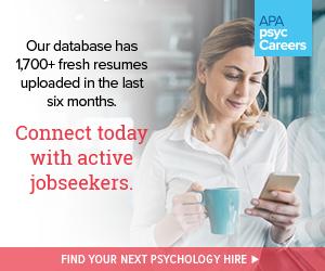 APA psycCareers Feb 2019