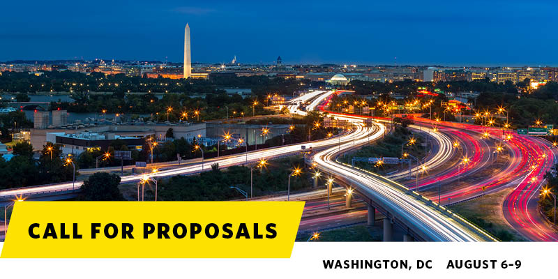 Call for Proposals | Washington, DC | August 6–9